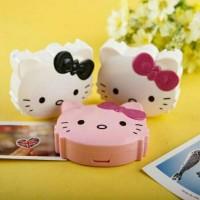 Jual Travel kit hello kitty HK lenscase lens case lengkap kaca tempat Murah