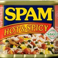 HORMEL SPAM : HOT & SPICY 340GR