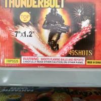 Jual Kembang Api Thunder Bolt 49 shot Murah