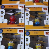 Jual Flying Minion Super Hero/Boneka terbang sensor Murah