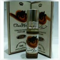 parfum dobha aroma choco musk 6ml murah, minyak wangi mirip al rehab