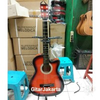 Gitar Akustik Yamaha Buat Pemula Belajar Murah Jakarta Bonus Pick