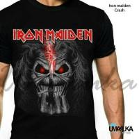 T-shirt / Kaos Full Print Umakuka - Iron maiden Crash
