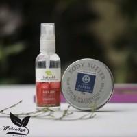Jual 2in1 Body Mist Bali Ratih + Butter Yoghurt 50gr Bali Alus Murah