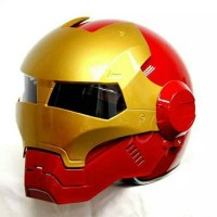 Helm MASEI IRONMAN Iron Man helmet half open face