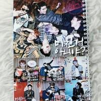 Jual obral buku kpop - 2PM -BTS -Wanna One -EXO l Got7 Murah