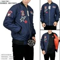 jaket bomber AIR-FORCE/bomber jaket