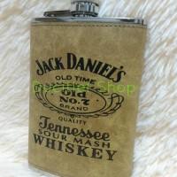 Tempat Minuman Alkohol/Hip Flask Arak/Botol Kaleng WiskyStainless 9oz