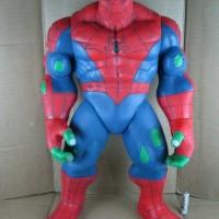 Jual Spider Hulk Spiderman Super Big Vinyl Action Figure Murah