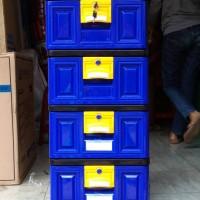 Jual Lemari plastik, lemari pakaian, lemari laci napolly STB 400 Murah