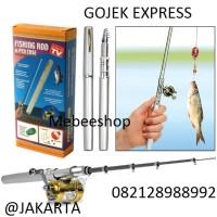 FISHING ROD in PEN CASE, Joran Mini / Pancingan Saku ( As Seen On Tv)