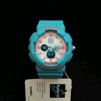 Jual Jam Tangan Wanita Casio G-Shock Baby-G Bga 120 Tosca Pink Stjm85