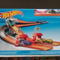 hot wheels track mega rally set