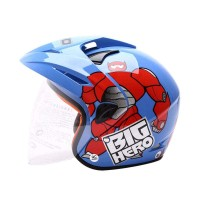 WTO Kids Pet Hero Helm Anak - Blue