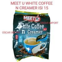 MEET U WHITE COFFEE N' CREAMER ISI 15