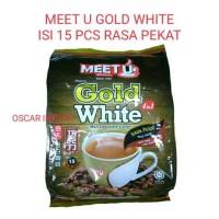 MEET U GOLD WHITE COFFEE ISI 15