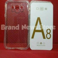 Softcase Anti Crack Samsung Galaxy A8 / Anti Banting / Soft Case