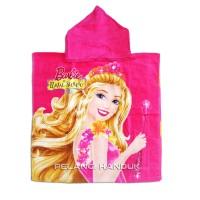 Jual Handuk Ponco Topi Barbie - Handuk Renang Anak - Towel  Murah