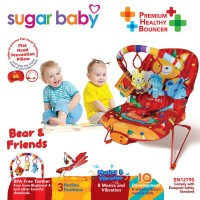 Jual Sugar Baby Bouncer - Bear & Friends Murah