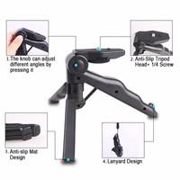 Jual 2 in 1 Portable Mini Folding Hand Monopod Stand Tripod DSLR Camera TER Murah