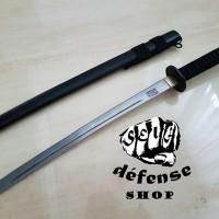 "Pedang Samurai Nipponto/ Short Black Katana Ninja ""Self Defense Shop"""