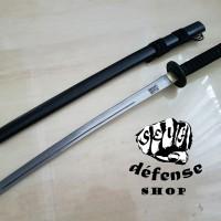 "Pedang Samurai Nipponto/ Long Black Katana Ninja ""Self Defense Shop"""