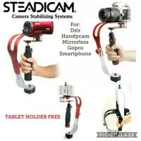 METAL HANDLE CURVE GIMBAL STEADICAM STABILIZER FOR DSLR & ACTION CAM