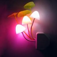 Jual Lampu Tidur - Lampu Hias - Lampu LED Jamur Sensor Cahaya Murah