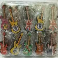 Souvenir Pernikahan Gantungan Kunci Gitar