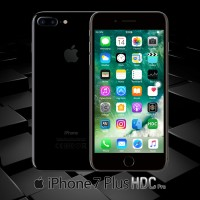 Jual iPhone 7 Plus HDC Pro 64GB | JET BLACK | 4G LTE | REAL FINGERPRINT Murah