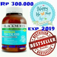 Jual Blackmores odourless fish oil 1000mg Murah