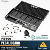 PEDAL BOARD EFEK STOMPBOX BEHRINGER PB600 Include Adaptor Kabel Patch