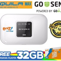 Modem BOLT AQUILA MAX FREE 32 gb dan gratis internet 1 tahun