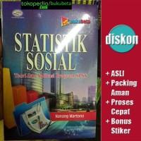 Statistik Sosial, Teori dan Aplikasi Program SPSS - Nanang Martono