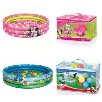 Jual kolam renang anak MICKEY / MINNIE  3 RING BALL PIT - 91028 Murah