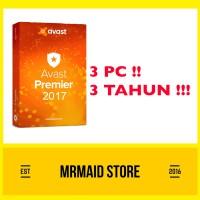 Antivirus Avast Premier 3 PC 3 Tahun