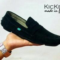 harga Sepatu Casual Kickers Pria Slip On Slop Loafers Lacoste Murah Tokopedia.com