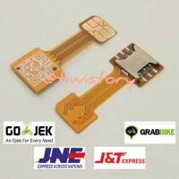 harga Dual Sim Card Nano Micro Adapter Converter Extension Extender Hybrid Tokopedia.com