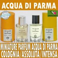 MINIATURE PARFUM ACQUA DI PARMA COLONIA INTENSA ASSOLUTA IRIS NOBILE