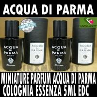 MINIATURE PARFUM ACQUA DI PARMA COLONIA ESSENZA EDC 5ML ORIGINAL