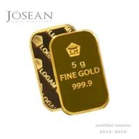 Jual emas antam logam mulia sertifikat 5 gram Promo Murah