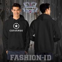 Jaket Sweater Hoodie CONVERSE Keren FASHION ID