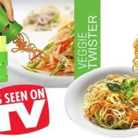 Jual VEGGIE TWISTER /FRUIT AND VEGETABLE TWISTER ALAT UNTUK MEMBUAT GARNISH Murah