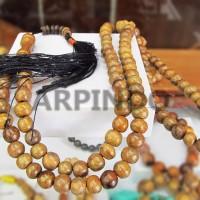 Tasbih Gaharu Aquilaria Grade A- 5  mm X 99   Agarwood 99 Tasbih Beads