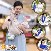 BABY LEON Gendongan Bayi Kaos / Geos /selendang Bayi Pr Berkualitas