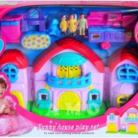 FUNNY HOUSE PLAY SET - MAINAN RUMAH RUMAHAN HT Limited