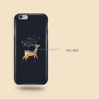 Jual Exclusive Custom Case Casing Animal 03, Deer, Rusa , Iphone Samsung Xi Murah