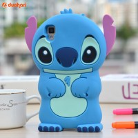 Casing Stitch OPPO F3 PLUS Case 3D OPPO F3 PLUS casing silikon F3+