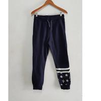 H&M Sweatpants Navy Star 100% Original