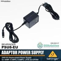 Behringer PSU8-EU Power Supply Adaptor V-AMP V-AMP2 V-AMP3 LX1B DFX69